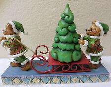 "Jim Shore Boyds Bearstone ""Jingle & Jangle...Oh Christmas Tree"" #4022303 RETIRED"