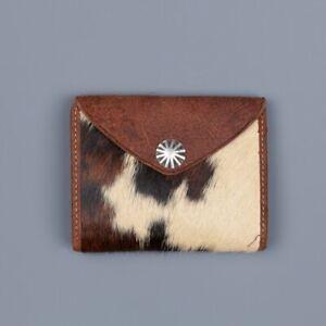 RRL Ralph Lauren Italian Suede Haircalf Wallet-MEN