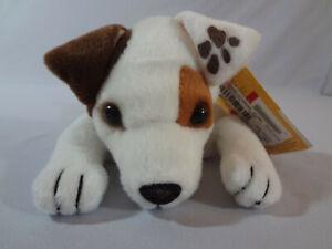 "1997 Vintage WISHBONE Dog 7"" Floppy Beanbag Plush Stuffed New with Tags L@@K!"