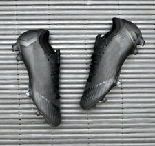 Nike Vapor 12 Elite 360 FG UK 7 EUR 41 Triple Black AH7380 001 ACC