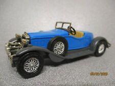 MATCHBOX Yesteryear Y14 1931 STUTZ BEARCAT  Blue Coachwork ..  mint n boxed!
