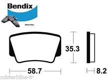 Plaquettes de frein arrière Bendix Metal Frité Mo367 pour KTM 450/505/525 SX XC