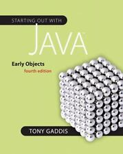 Starting Out with Java: Early Objects (4th Edition) (Gaddis Series) by Gaddis,