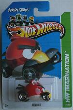 Hot Wheels angry birds Red Bird nuevo/en el embalaje original us-card juguetes mattel HW coche car Toy