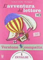 L' avventura del lettore Vol.1 + Antologia + Mito Epica + Invalsi 9788842647515