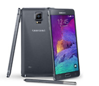 """Débloqué Téléphone 5.7"""" Samsung Galaxy Note 4 N910T 32GB 3GB RAM 4G NFC - Noir"""