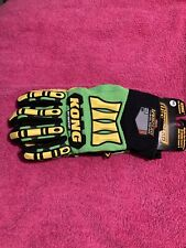 Kong Hi Vis Cut Resistant Impact Protection Gloves * Oil and Gas * Xxl