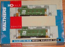 WALTHERS 932-27563 30' 4 WINDOW CABOOSE CB&Q STYLE 2-PACK BURLINGTON NORTHERN BN