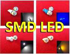 2 x SMD LED Side Lights - White Blue Yellow Amber - wedge 501 t10 5050 12v 5w