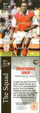 FUTERA  FANS SELECTION 1999 ARSENAL CHRISTOPHER WREH CARD NUMBER 119