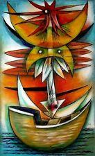 Original Art Painting Cuban Artist Cuba GERMAN ROSAENZ MONTERDE 02