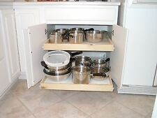 "pull out shelves that slide 16"" x 22"" cabinet sliding shelving deep glide"