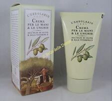 ERBOLARIO Crema Mani & Unghie olio di oliva 75ml Hands & Nails cream olive oil
