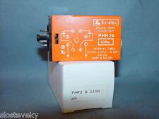 Syrelec Interval Timer Relay PHR2B110A PHR2 B 110A PHR2B110VAC