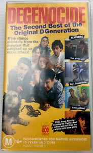 Degenocide 2nd Best Of The Original DGen VHS Cassette Tape PAL M15+ ABC Video