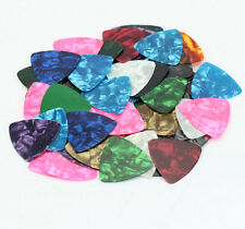 Smooth Guitar Pick Picks PlectrumAcoustic Bulk Celluloid Electric 0.46mm 10X