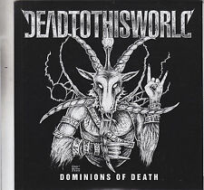 """DEAD TO THIS WORLD - dominions of death EP  7"""""""