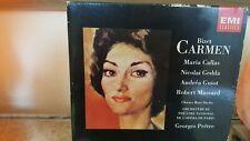 Bizet Carmen CALLAS/GEDDA <1964 PARIS PERFORMANCE> EMI Remastered 1985 2CD Set