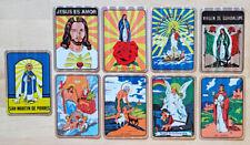 9 Vintage 90's Prism Spanish Religious Vending Stickers