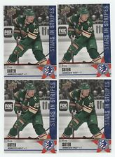 4) Ryan Suter 2020 Upper Deck National Hockey Card Day USA #NHCD-7 Lot WILD