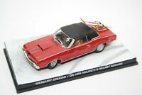 Mercury Cougar XR-7 Red James Bond 1969 Year Altaya 1/43 Scale Diecast Model Car