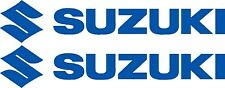 """SUZUKI DECALS TWO EXTRA LARGE 2400mm 8year UV vinyl """" CHOICE OF COLOURS """""""