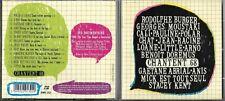 CD 13T + DVD ILS CHANTENT 68 RODOLPHE BURGER/MOUSTAKI/STACEY KENT/CALI/ARNO