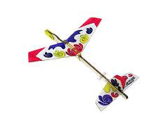 2pcs Lanyu Hand Launch Balsa Wood Glider Plane DIY Build&Paint Model Kit, US7026