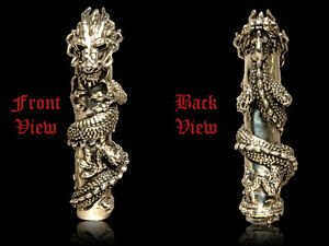 Dragon Cologne Flask Atomizer With Ruby Eyes