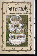 BAREROOTS 123 Stitchery Basket & Accessories pattern
