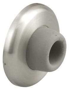 Prime-Line J4540 Wall Stop, Brushed Stainless Steel, Door Know Bumper