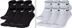 Mens NIKE Everyday Performance PLUS LOW Socks Pick 1 - 3 - 6 Pairs Dri Fit NEW