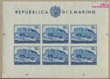 san marin 439B mini feuille Feuille miniature (complète edition) neuf (9305286