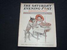 1910 APR 30 THE SATURDAY EVENING POST MAGAZINE - F.X. LEYENDECKER COVER - SP 480
