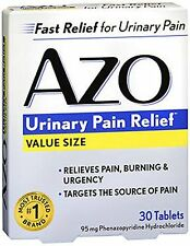 AZO Standard Urinary Pain Relief Tablets 30 Each