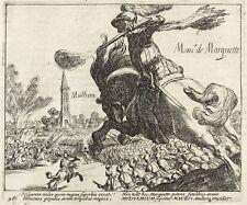 MÜHLHEIM - SCHLACHT 1609 / DANIEL DE HERTAING - Baudartius - Kupferstich 1616