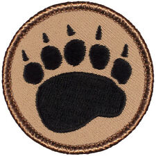 Fun Boy Scout Patches - Bear Claw Patrol! (#028)