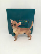 Chihuahua Dog Studies by Leonardo Figurine Ornament *BRAND NEW BOXED*