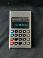Vintage Casio Pocket-Mini Electronic Calculator P-810  Tested and Working