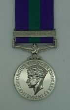 Full Size General Service Medal GSM with South East SE Asia 1945-46 Clasp