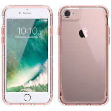 Griffin iPhone 8 7 & 6S 6 Survivor Clear Protective Cover Case - Rose Gold/Clear