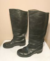 Soviet Russian Military Uniform Officer Leather Boots Sapogi size 40 USSR