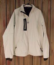 Landway Jacket Coat Softshell Jacket Ivory Meshed Lined Men's Size XL