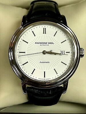 Raymond Weil 2847-STC-30001 Maestro White Dial Men's Automatic Watch WARRANTY