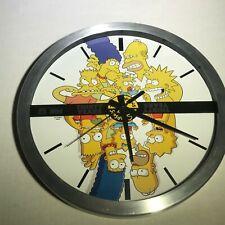 rare the simpsons 30th anniversary wall clock 1987-2017