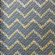 Liberty Tana Lawn Cotton Fabric Geometric Pattern Grey Orange Print SAMPLE PIECE