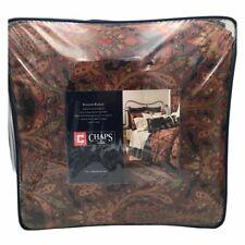 New Chaps Home Shanton Paisley 4 Piece Comforter Set Black Size Full