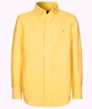 Ralph Lauren Herren Hemd Shirt Freizeithemd Gr.17 (XXXL) Blake Gelb 95637