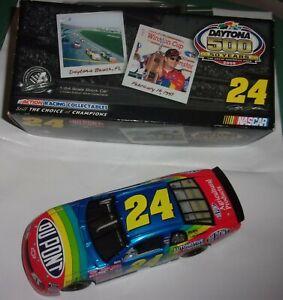 Jeff Gordon #24 DuPont Daytona 500 Win1997 Monte Carlo 1:24 Scale