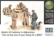MODERN U.S. TANKMEN (MARINES) IN AFGHANISTAN (ABRAMS CREW)  1/35 MASTERBOX